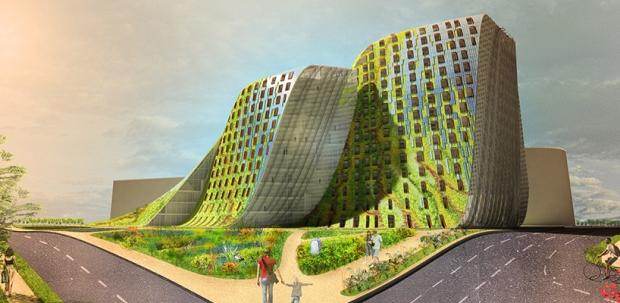 eureka adds parametric façade to ryde's civic centre